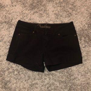 DELIA'S Size 11/12 black shorts